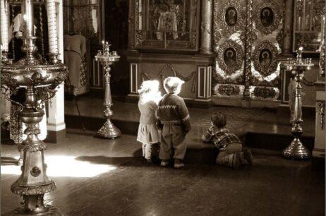Первые шаги в храме